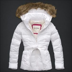 NWT Abercrombie kids A&F kids Sherpa jacket